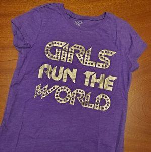 """Place t-shirt """"Girls Run the World"""""""
